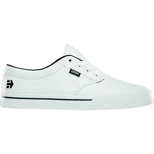 Etnies Men's Jameson 2 ECO Skate Shoe, White/Black, 8 D US