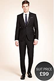 Limited Collection Super Slim Fit 1 Button Eveningwear Jacket