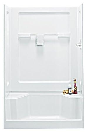 Sterling 62034100-0 Vikrell 48-Inch Seated Shower Stall Wallset