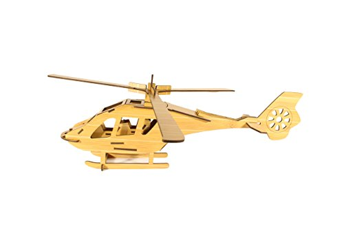 Uping 3D jigsaw puzzles Jigsaw Puzzle puzzle games Bastelset Kits from bamboo-model Helicopter - 1