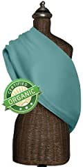 Mamma's Milk ORGANIC AquAzul INVISIBLY ADJUSTABLE Baby Sling