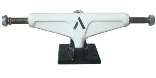 Venture Superlight Lo Skateboard Trucks - White / Black - 5.0 (set of 2)