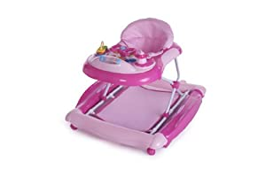 Babyco On-the-go Baby Walker with Rocker (Pink)