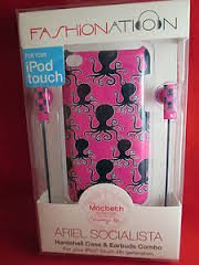 Macbeth - Hard Shell Case And Earbud Headphones For Apple Ipod Touch - Ariel Socialista