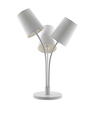 Contemporary Lighting  Lámpara De Mesa Tris Blanco