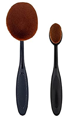 Best Cheap Deal for JPNK Oval Toothbrush Style Synthetic Powder Foundation Cream Makeup Brush (5 Pieces) from JPNK - Free 2 Day Shipping Available