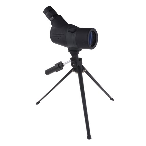 Neewer® Compact 15-45X 52 Multi-Coated Retractable Spotting Scope With Soft Case And Tripod For Dslr Digiscoping