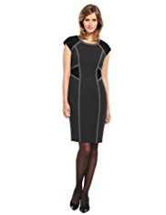 M&S Collection Colour Block Panelled Dress