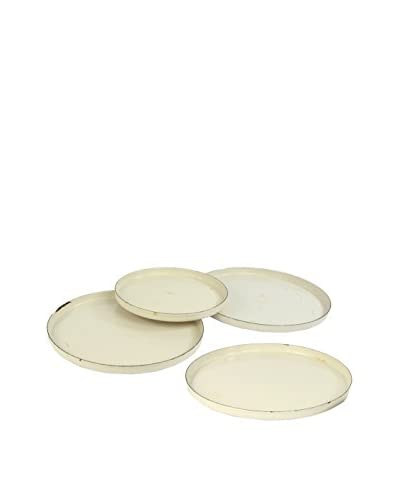 Uptown Down Previously-Owned Set of 4 Aluminum Camping Plates