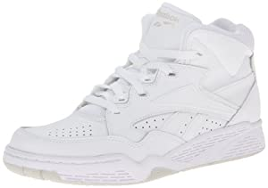 Reebok Men's BB 4600 Mid Basketball Shoe,White/Natural,11 M