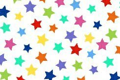 Cheapest SheetWorld Fitted Pack N Play (Graco) Sheet - Primary Colorful Stars On White Woven - Made In USA