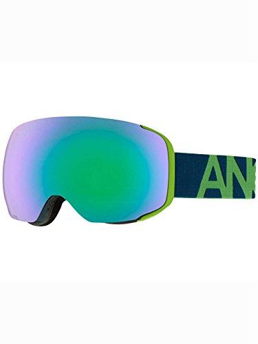 Burton Snowboard occhiali M2, Uomo, Snowboardbrille M2, Krypto/Green Solex