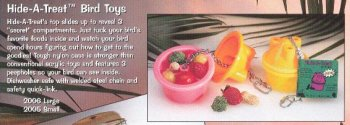 Buy Jungle Talk Hide-a-Treat Small Bird Toy