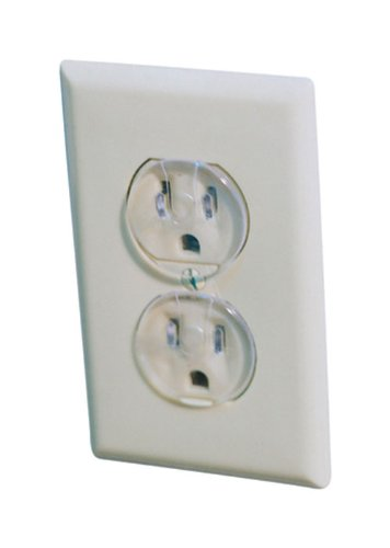 Dorel Junenille/ Safety 1st #1711 12PK Clear Outlet Cap (Pack of 2)