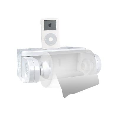 The Icarta Ipod Dock Forevergeek - Icarta-ipod-dock-and-toilet-roll-dispenser