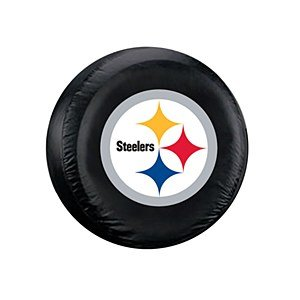 NFL Pittsburgh Steelers Spare Tire Cover (Steeler Tire Covers compare prices)