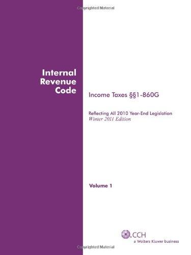 INTERNAL REVENUE CODE; Income, Estate, Gift, Employment...