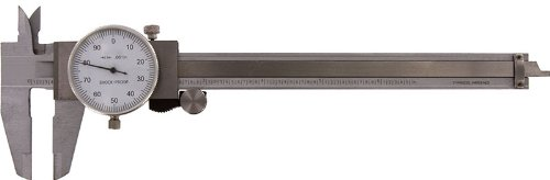 SE 780DC-A 6-Inch Dial Caliper SAE Only in Plastic Box