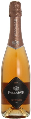 Follador Sparkling Wine Cuvee Rose Brut 75cl (Case of 6)