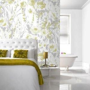 Fresco Monet Wallpaper - Green from New A-Brend