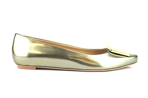 TOD'S AH519 ballerine donna pelle lucida platino (41 EU)