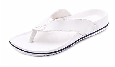 Aircum Men's Slipper White