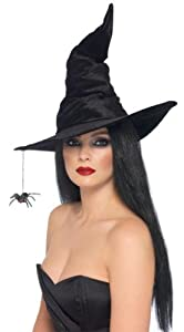 Smiffys Witch Hat For Halloween For Women