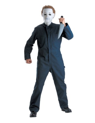 Michael Myers With Mask Deluxe Plus Size