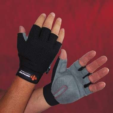 Carpel Tunnel Glove,Half Finger, Synthetic Leather Palm, Washable, Xlarge front-55726