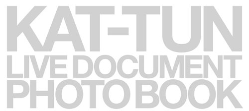 "KAT-TUN live document photo book""break the records"""