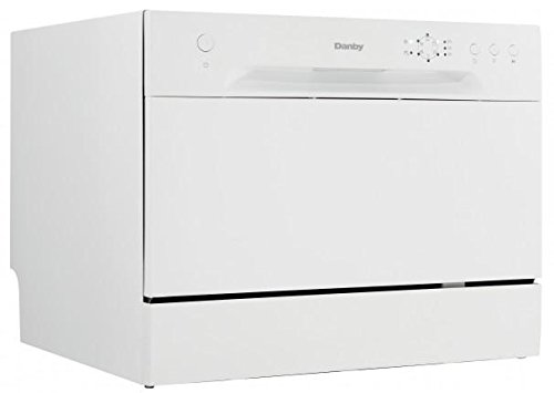 Danby Countertop Electronic Dishwasher : ... - Danby Ddw621wdb Energy Star Rated Countertop Dishwasher In White