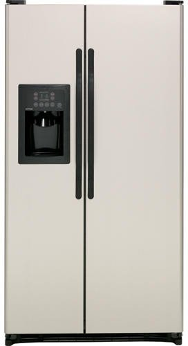 Hotpoint Stainless Look Side-by-Side Freestanding Refrigerator HSM25GFBSA