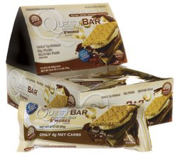 Quest Nutrition Protein Bar S'mores, 2.12 oz per bar, 12 Count