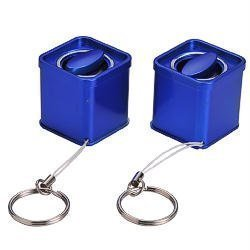 デバイスネット ペットボトルスピーカーSTEREO (ブルー) RW95BL