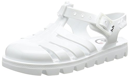 JuJu ShoesNINO - Sandali  da ragazza' , Bianco (White),  7 Child UK (24 EU)