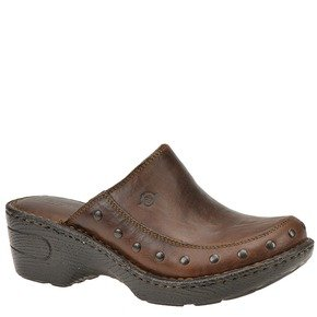 Born Women's Marley Slip-On Clog (9, Tan)