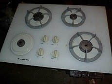 Kitchenaid Glass Top 30x22 gas Cooktop