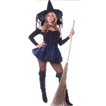 Adult Amethyst Witch Costume