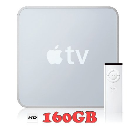 Apple Tv With 160Gb Drive - Bulk Eco Packaging (1St Generation - A1218 - Model: Mb189Ll A)