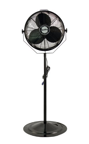 Air King 9418 18-Inch Industrial Grade Pedestal Fan (Pedestal Ceiling Fan compare prices)