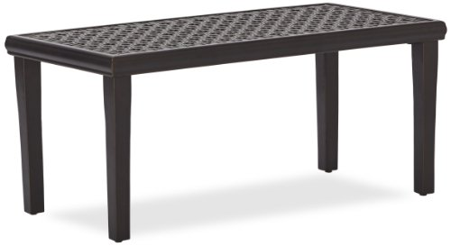 Strathwood Whidbey Cast-Aluminum Coffee Table