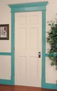 Door Trim Fiberboard, Door Casing Fiberboard Molding 32 in. x 10 in.