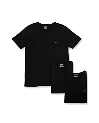 Emporio Armani Set 3 Pezzi T-Shirt Manica Corta [Bianco]