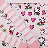 5 Sheets - Cute Hello Kitty Colorful Popular Mixed Desgin Decals Stickers Nail Art Effects By MyGal