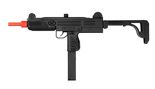 Bbtac® Electric Automatic Airsoft Gun Smg Sub-Machine Gun [D91] Airsoft Gun With Adjustable Stock, High Rate Of Fire, High Power 200 Fps With Bbtac® Warranty & Tech Support