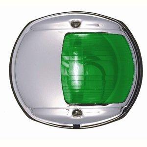 Perko Marine Boat Navigation Led Side Green Light 12V Chrome Plated Housing