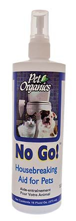 NaturVet Pet Organics NO GO! All Natural House Breaking Aid Dog Cat 16 oz