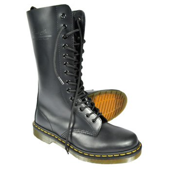 Dr Martens 1914 14 Eye Boots (Black) - 8 UK
