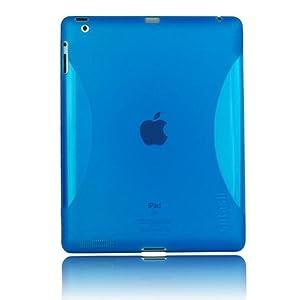 Splash Vapor Flex Case for  iPad 2 - Blue