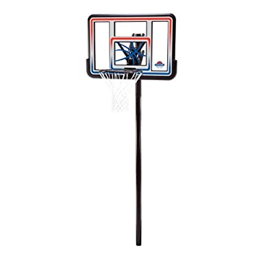 Lifetime 1008 In-Ground Basketball Hoop with 44in Acrylic Fusion Backboard